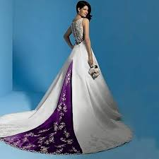 purple dresses for weddings white and purple wedding dress naf dresses wedding dress ideas