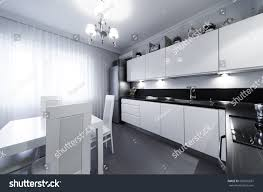 beautiful interior apartment kitchen classic style stock photo beautiful interior apartment kitchen classic style design background home decoration nature materials