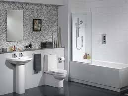small tiled bathroom ideas the cobblestone effect on the wall makes this bathroom