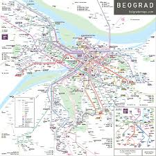 Santiago Metro Map by Inat Inat Maps