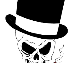 easy skull design fashion style
