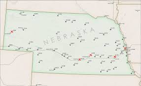Mexico City Airport Map by List Of Airports In Nebraska Wikipedia
