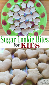 sugar cookie bites for kids uplifting mayhem