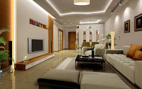 View Of A Well Designed Living Room With Artifacts On Display - Drawing room interior design ideas
