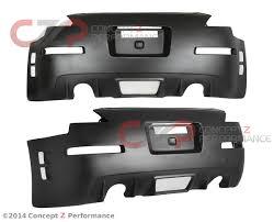 nissan 350z rear diffuser body u0026 aero rear bumpers u0026 diffusers rear bumper covers