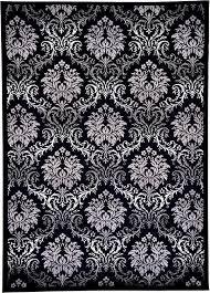 Damask Area Rug Black And White Damask Rug Black And White Rug Designs