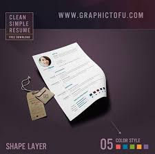 Easiest Resume Template 115 Best Free Creative Resume Templates Download