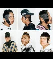 chicano hairstyle hair style in mexico called the cholombiano who would even wtf