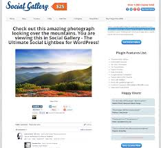 guide social gallery pages customisation u2013 custom page templates