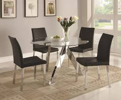 Crate And Barrel Dining Room Dining Room Crate And Barrel Round Dining Table In Splendid Glass