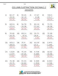 decimals worksheet 5th grade worksheets