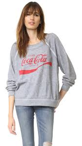 wildfox coca cola sweater shopbop save up to 30 use code more17