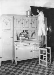 Kitchen Cabinet History Antiques Attic Hoosier Style Cabinets