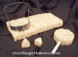 rice krispies treat black cat pops hungry happenings