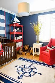 chambre garcon bleu chambre enfant chambre bébé garçon style nautique tapis blanc bleu