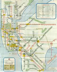 New York Submay Map by System 1966 A Gif