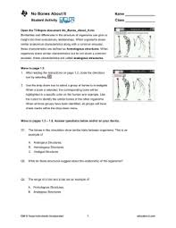 whale evolution data table answer key data table 1 homologous structures