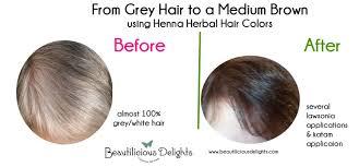 henna hair dye gray om hair