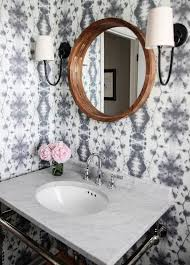 Wallpapered Bathrooms Ideas Best 25 Mirrored Wallpaper Ideas On Pinterest Textured