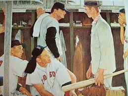norman rockwell s the rookie greecenewsny
