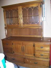 Hutch China Great Maple China Hutch Has 6 Drawers 1 Lg Cabinet And Double