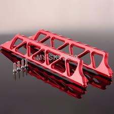 nerf car online shop 7723 aluminum side trail nerf bars for rc model car