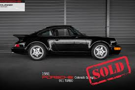 porsche ruf for sale 1991 porsche 911 turbo for sale in colorado springs co p2719a1j