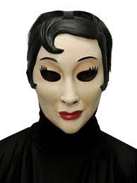 creepy mask girl mask masks