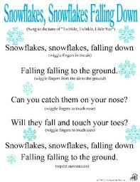 movement activities catchy song about snow that all the
