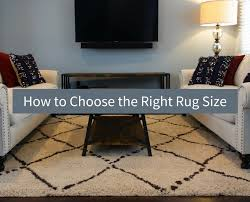 Rug Sizes For Living Room How To Choose The Right Rug Size For Your Living Room Design Inside