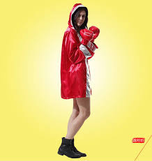 Boxer Halloween Costumes Halloween Costume Female Boxing Wear Cosplay Ensembles