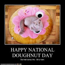 Funny Donut Meme - 40 most beautiful national doughnut day 2016 greeting pictures
