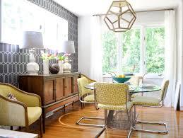 mid century design vibrant midcentury modern dining room evaru design hgtv