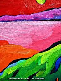 Abstract Landscape Painting by Abstract Landscape Paintings Summer Day2 1008x1024 Abstract