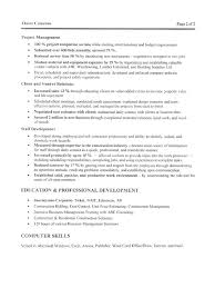 construction manager resume sample free resumes tips