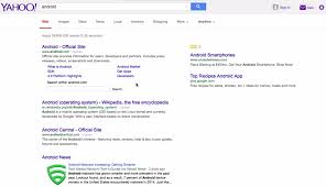 Search Designs by Yahoo Search Is Testing Google Like Interface