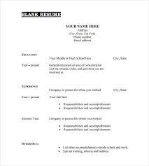 Bartender Resume Templates Blank Resume Template Bartender Resume Format Server Bartender
