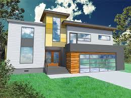 Contemporary Home With 4 Bdrms Modern House Plan 056h 0002 Dream Home Pinterest Modern