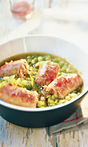 cuisiner des pois cass recette saucisses de toulouse confites aux pois cassés