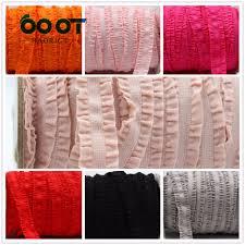 crochet elastic ribbon 1616232 16mm solid crochet flower fold elastic ribbon 10