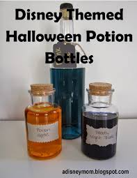 diy disney themed halloween potion bottles falon loves life