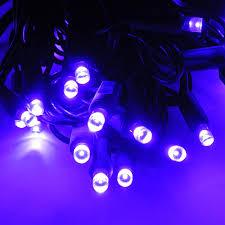 led polka dot 70 string light set purple led string lights