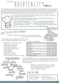 Event Fact Sheet Template Hospitality Career Fact Sheet Hospitality Career And Career