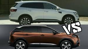 peugeot 3008 2017 2017 peugeot 3008 vs 2017 renault koleos drive exterior interior