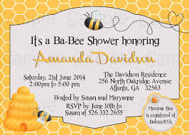 bumblebee baby shower top 10 bumble bee baby shower invitation 2017 thewhipper
