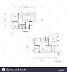 architecture plan drawing design house plans downstairs and stock