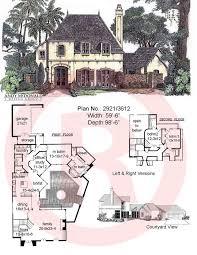 Cottage Home Floor Plans by 99 Best House Plans Images On Pinterest Architecture Vintage