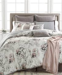 Rose Tree Symphony Comforter Set Black White Damask Reversible Girls Teens Full Comforter Set