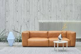 canap hay mags sofa 2 or 3 places l 228 cm leather