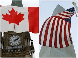 Backwards Us Flag Conrad Black A Merger With The U S Would Be A Great Leap